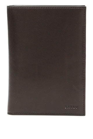 Bally Logo Passport Holder