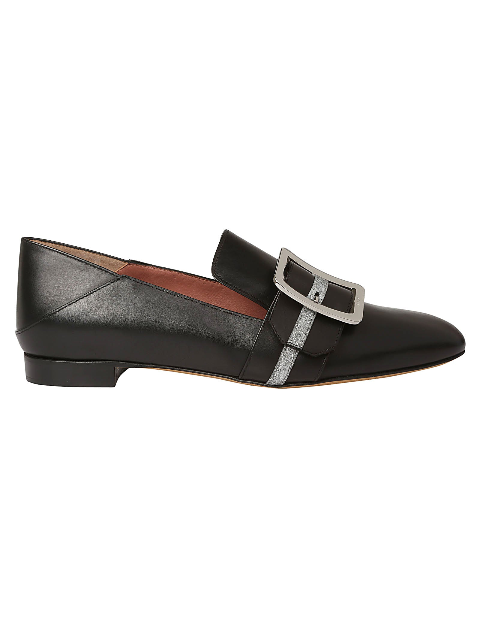 Bally Janelle Leather Loafers, Black