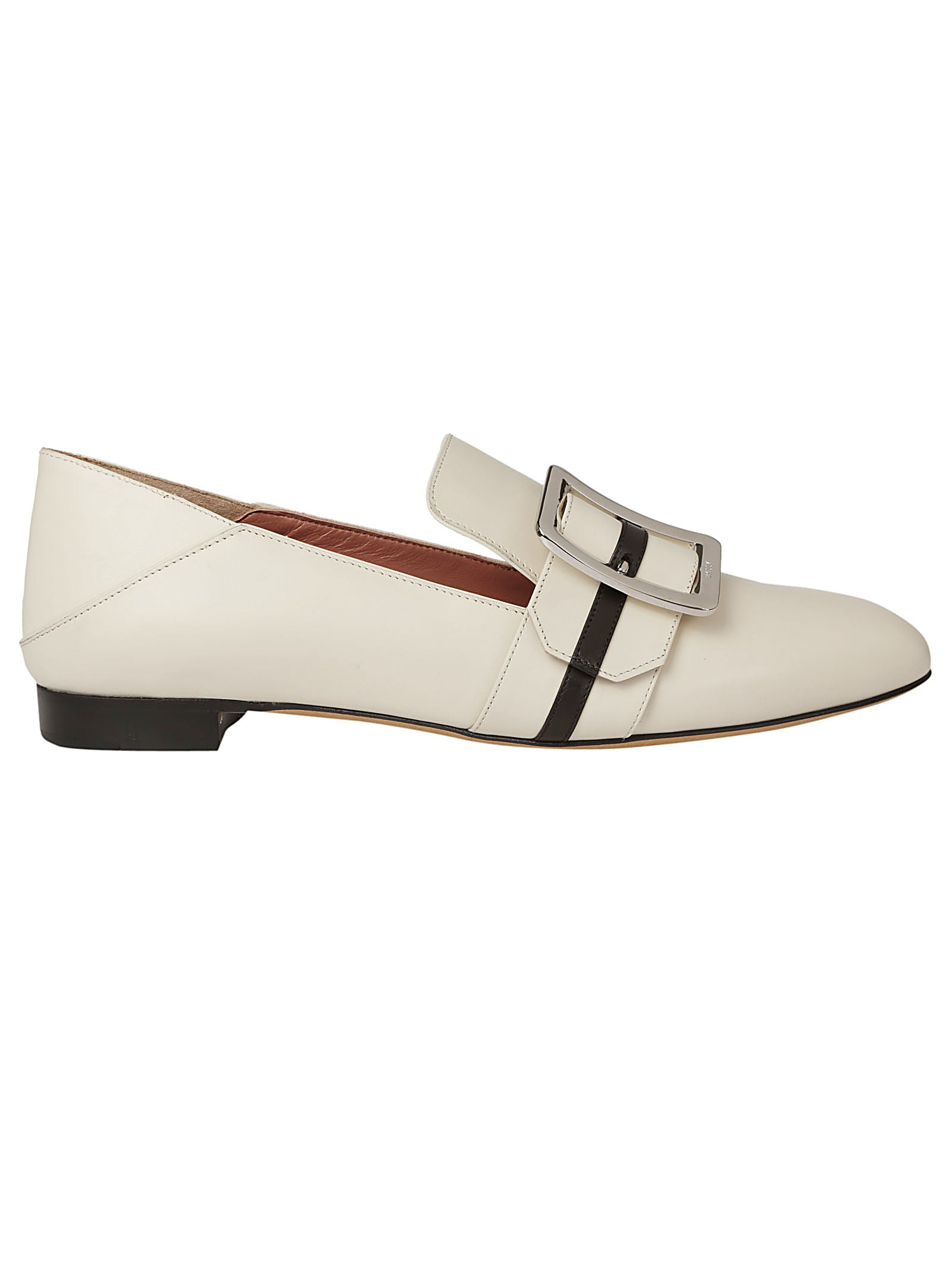 Bally Janelle Leather Loafers, White
