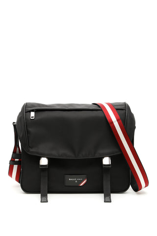 Bally Fabro Front Flap Messenger Bag
