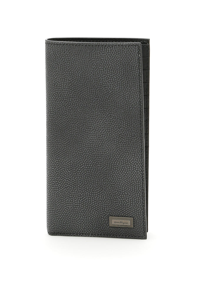 Salvatore Ferragamo Vertical Logo Plaque Wallet ef92683c91a9c