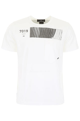 Stone Island Shadow Project Back Printed T-Shirt