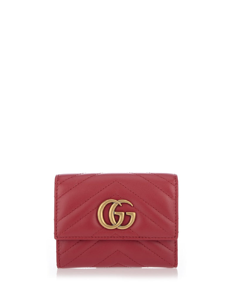 4565edc0b901 Gucci GG Marmont Quilted Fold Wallet – Cettire