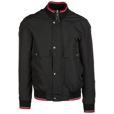 Dior Homme Ribbed Edging Multiple Pockets Bomber Jacket