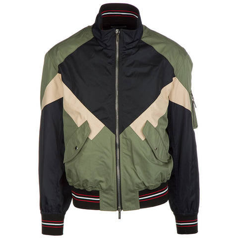 Dior Homme High Neck Bomber Jacket