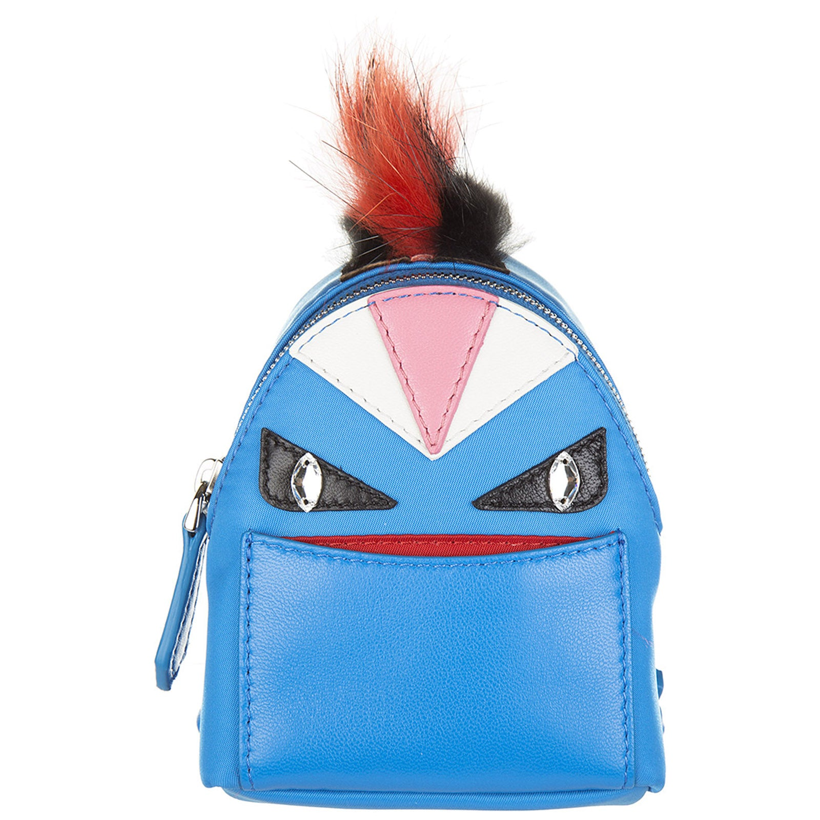 5d9922ad5286 Fendi Bag Bugs Backpack Charm In Blue