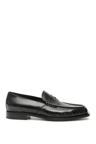 Fendi FF Monogram Loafers