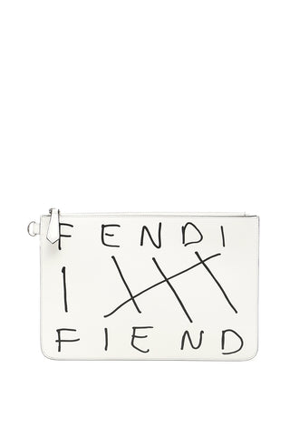 Fendi Fiend Zipped Pouch