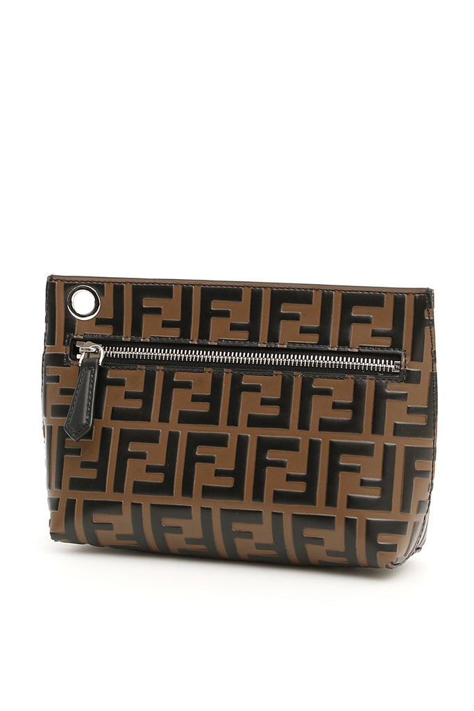 Fendi FF logo Clutch Bag d068986123d8f