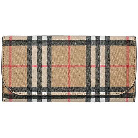 f28c1615069 Burberry Vintage Check Continental Wallet