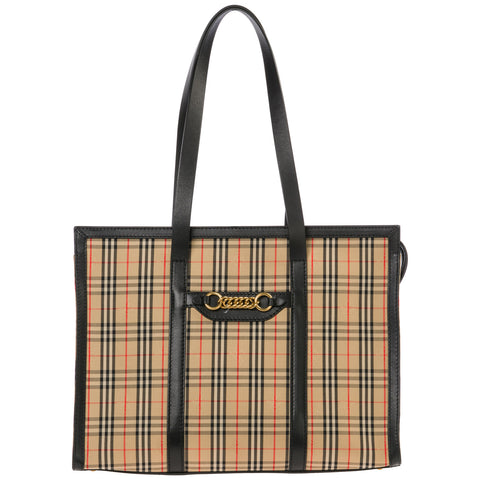 Burberry The 1983 Check Link Tote Bag