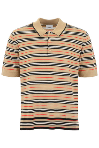 Burberry Icon Stripe Merino Polo Shirt