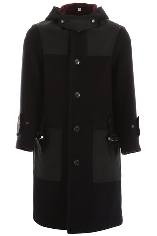 Burberry Double Faced Hooded Coat