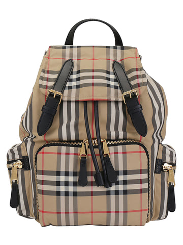 Burberry Medium Rucksack Foldover Backpack