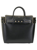 Burberry Medium Studded Logo Tote Bag