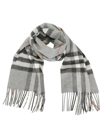 Burberry Icon Check Fringed Scarf