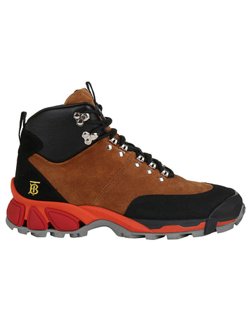 Burberry Tor Logo Hiking Boots