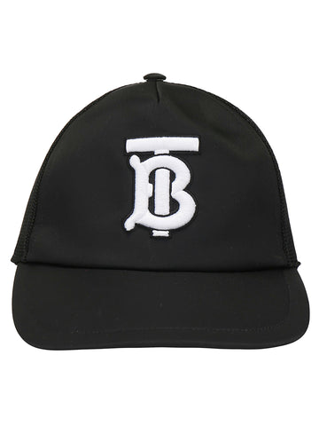 Burberry Logo Embroidered Baseball Hat