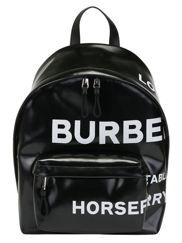 Burberry Zipped Logo Backpack