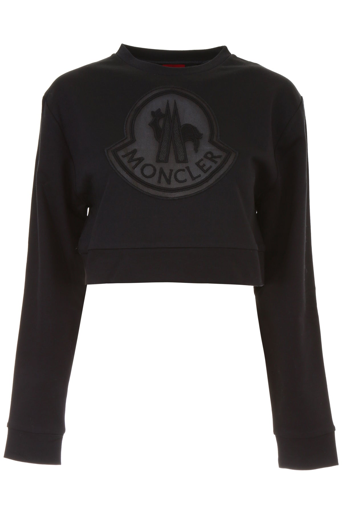 MONCLER GAMME ROUGE CROPPED SWEATER