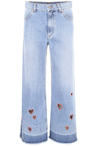 Vivetta Wide Cropped Jeans