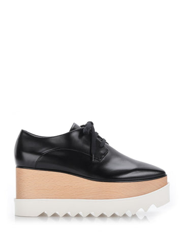 Stella McCartney Leather Platform Shoes