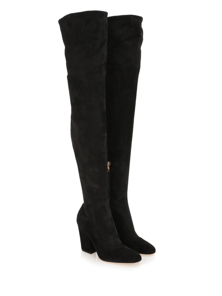 27ef2794421 Sergio Rossi Suede Over-The-Knee Boots – Cettire