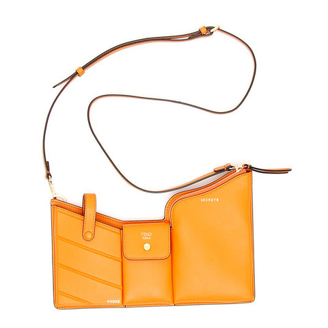 Fendi Pockets Mini Crossbody Bag