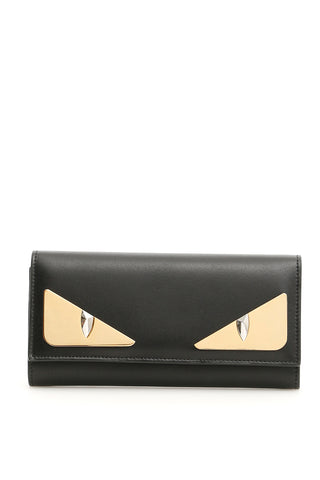 Fendi Bag Bugs Continental Flap Wallet