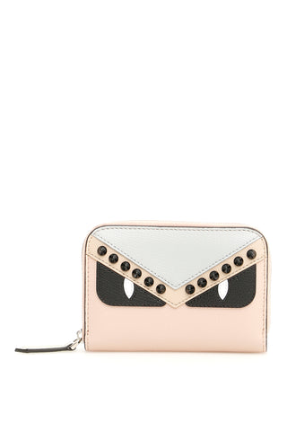 Fendi Small Bag Bugs Zip Around Wallet
