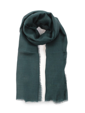 Brioni Frayed Edges Scarf
