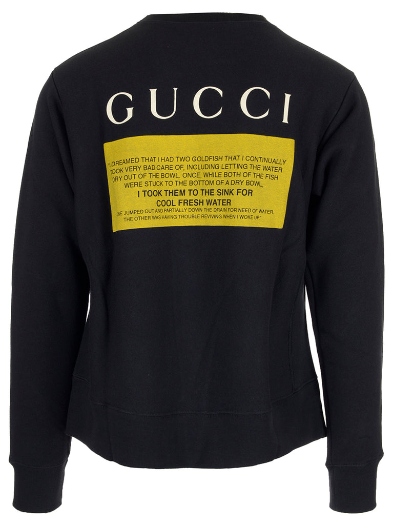 60b1084d8 Gucci Black Cat Sweater – Cettire