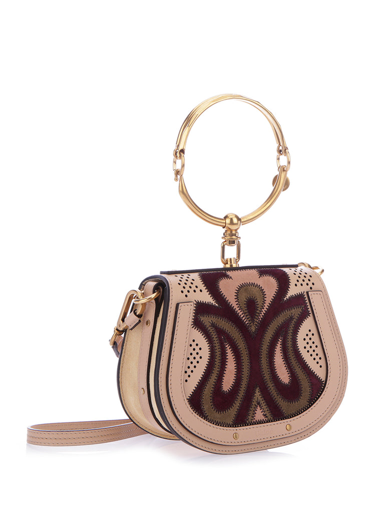 Patchwork Nile Small Bracelet Bag - Only One Size / Multi Chloé Clearance Outlet Store New Arrival Amazing Price Cheap Online S6aJfX