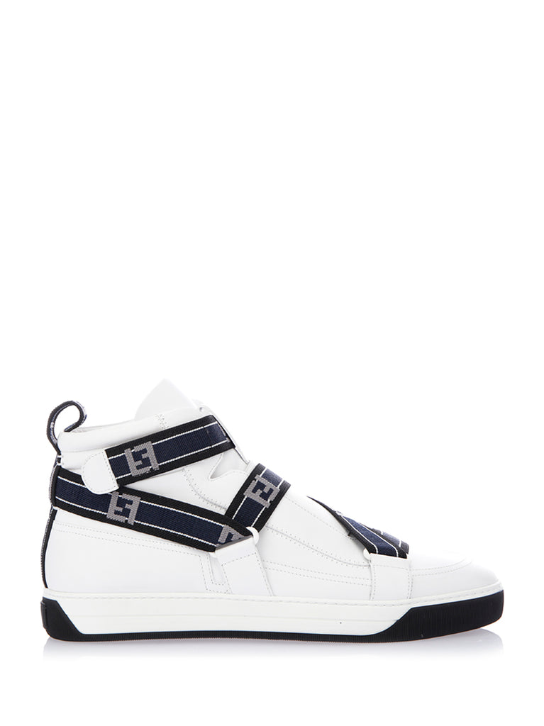 e77c221762 Fendi FF Tape High-Top Sneakers
