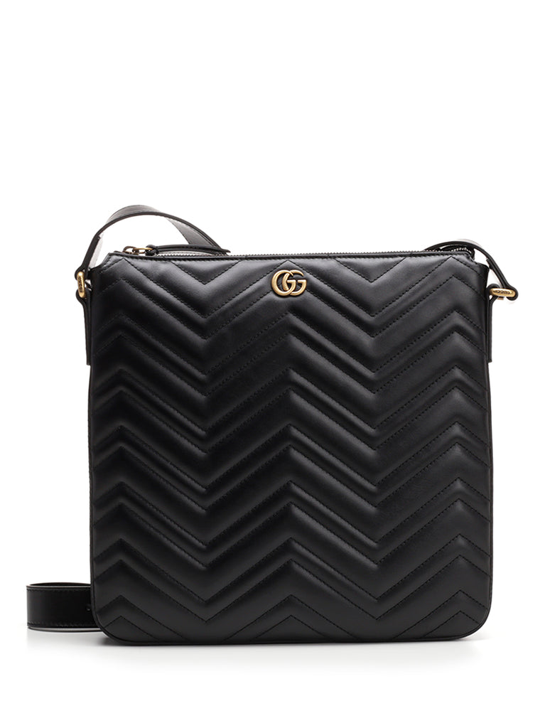 3ef38f18cf46 Gucci GG Marmont Quilted Messenger Bag – Cettire