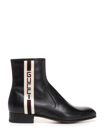 Gucci Guccy Band Ankle Boot