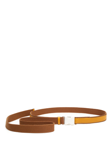 Marni Two Tone Buckle Belt