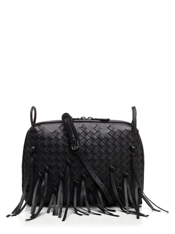 Bottega Veneta Fringe Nodini Crossbody Bag