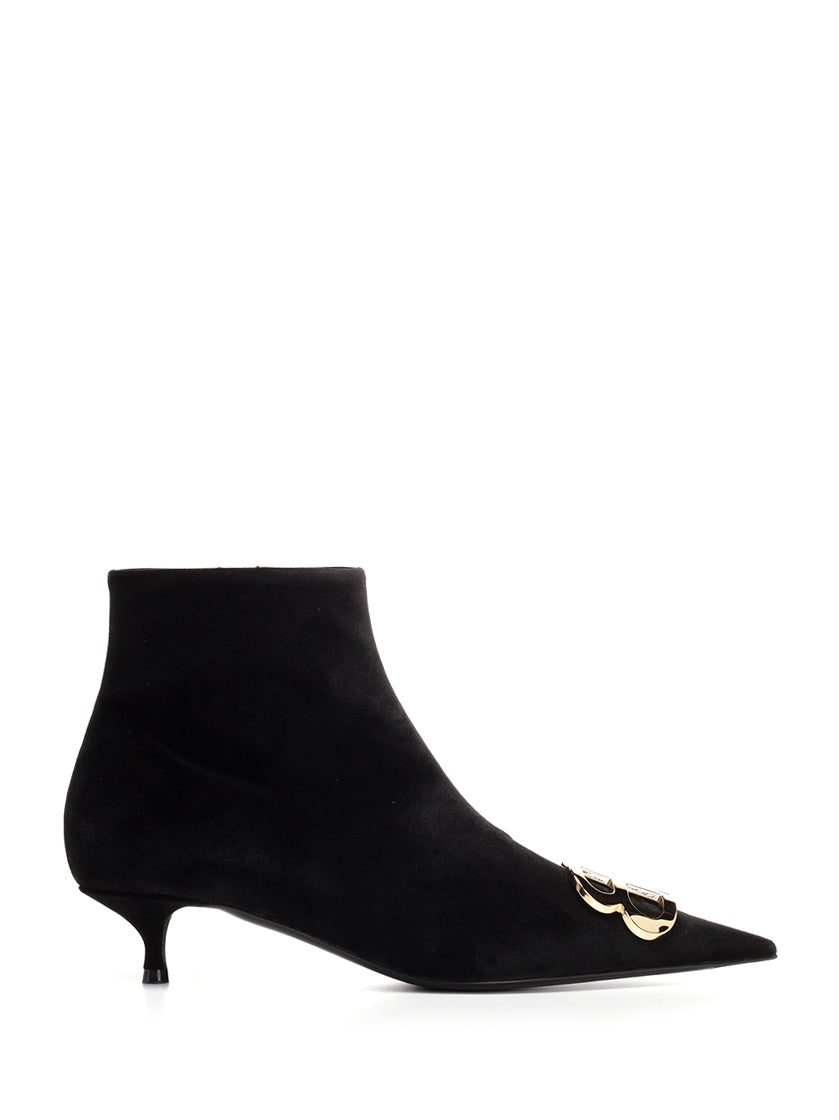 BALENCIAGA BB POINTED BOOTIE