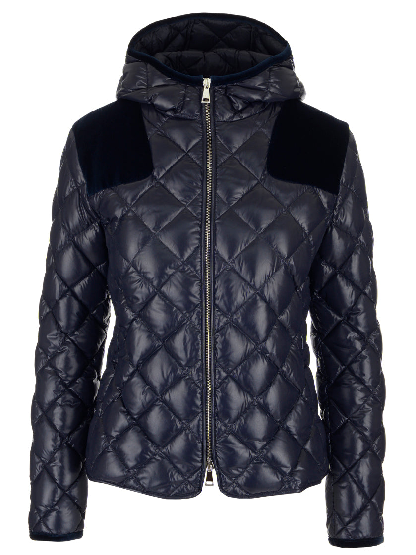 MONCLER QUILTED PUFFER HOODIE