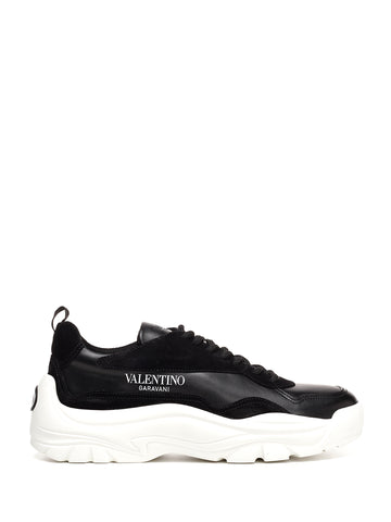 Valentino Logo Print Low-Top Sneakers