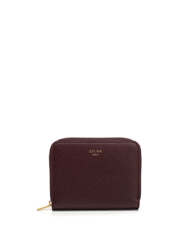 Céline Zip Around Card Holder Wallet