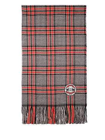 Gucci Checked Fringed Scarf