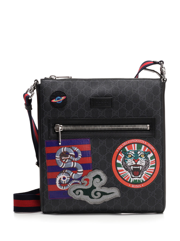 c3180c1be Gucci Night Courrier GG Supreme Messenger Bag – Cettire