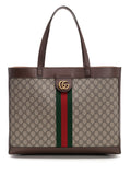 Gucci Ophidia Checkered Tote Bag