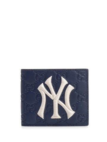 Gucci NY Yankees Patch Wallet