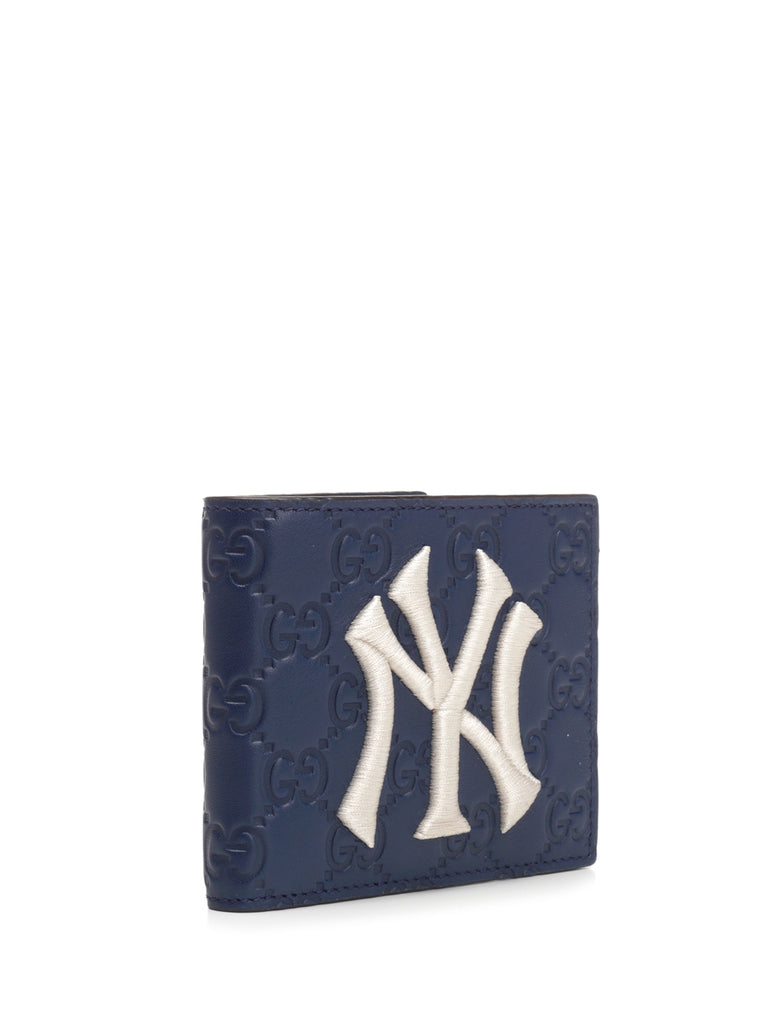 8089d1cd555a Gucci NY Yankees Patch Wallet – Cettire
