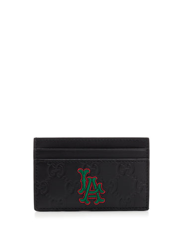 Gucci LA Patch Card Holder