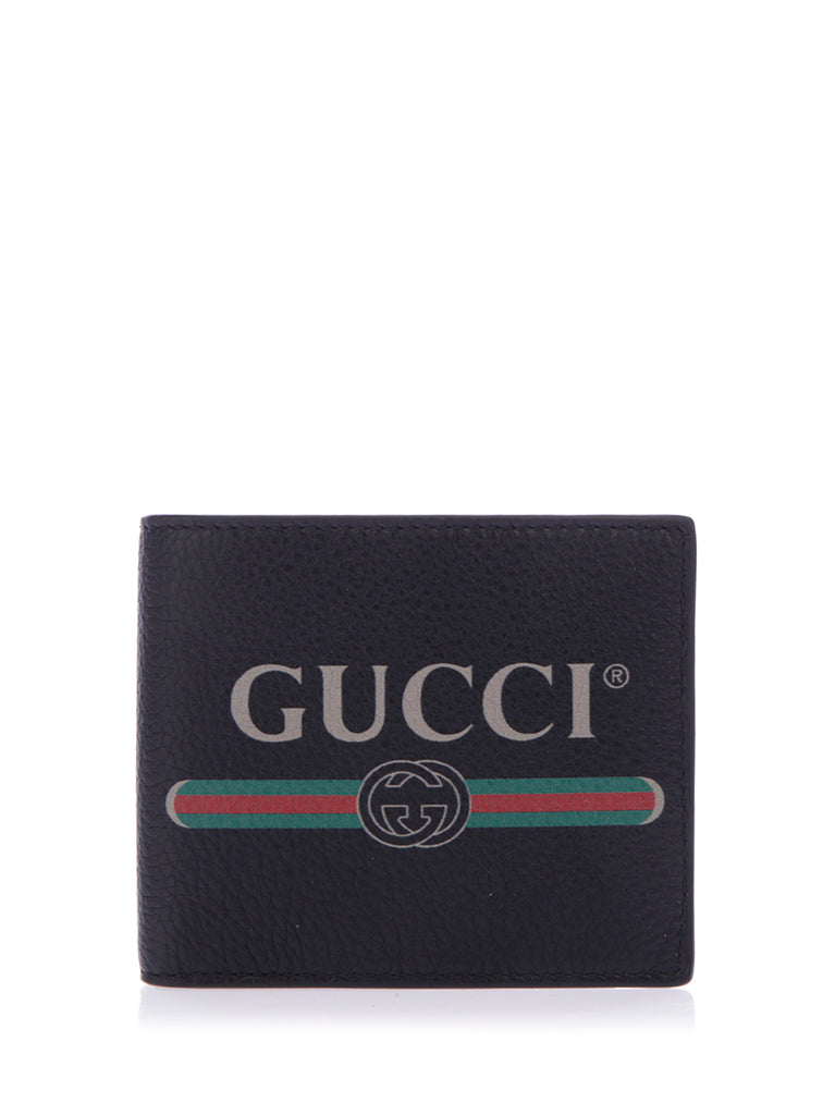 Gucci Logo Leather Coin Wallet