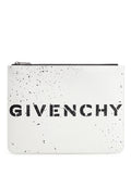 Givenchy Logo Stencil Clutch Bag